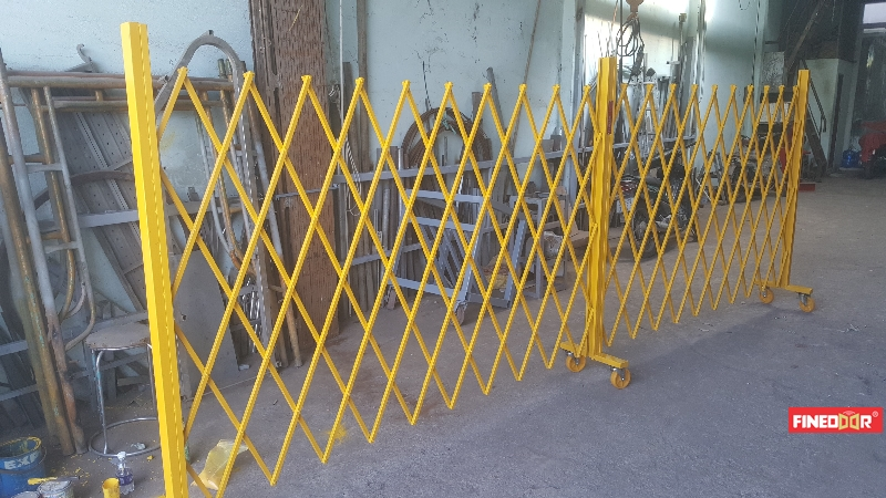 Hàng rào xếp di động, rào xếp kéo tay, rào xếp di động, hàng rào chữ T, rào xếp chữ T
